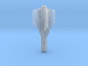 QuadFin Crossbolt in Smooth Fine Detail Plastic