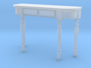 1:36 Colonial Console Table in Smooth Fine Detail Plastic