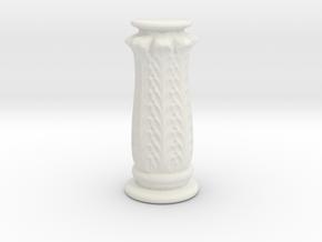 LampPostTest in White Natural Versatile Plastic