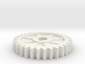 gear mill in White Natural Versatile Plastic