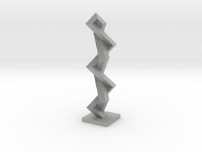 Fence around Nothing (rhombic beam) in Metallic Plastic
