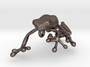 Frog_Pendant_Head in Stainless Steel