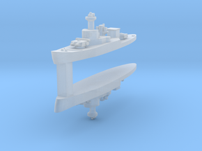 HTMS Thonburi 1:4800 x2 in Frosted Ultra Detail