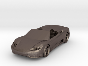 FERRARI MODENA SPIDER  in Polished Bronzed Silver Steel