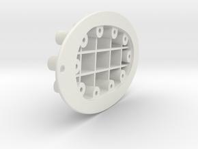PrimScrewStore in White Natural Versatile Plastic