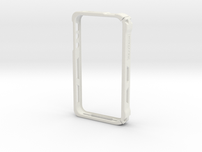 IPhone 4s Case (2 Part) in White Strong & Flexible