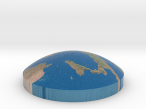 Omni globe Italy in Full Color Sandstone