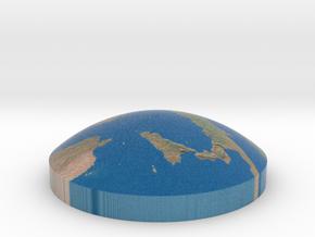 Omni globe Italy in Full Color Sandstone
