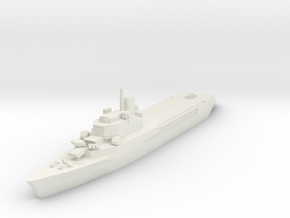 Jeanne d'Arc helicopter cruiser 1:2400 x1 in White Natural Versatile Plastic
