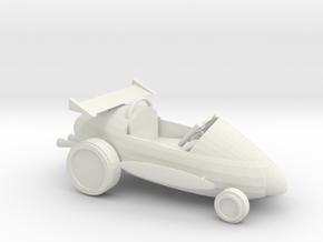 soapracer in White Natural Versatile Plastic