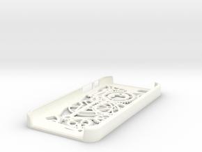 Iphone 5 Case - Gears in White Processed Versatile Plastic
