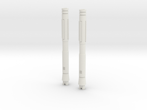 Sunlink - Stronghold Barrel Cannons - TFCon in White Natural Versatile Plastic