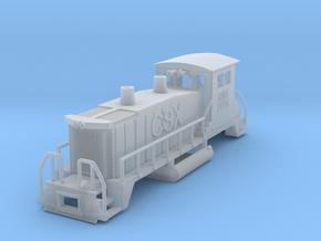 CSX EMD SW1500 in Smooth Fine Detail Plastic