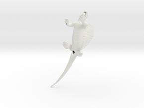Dimetrodon1:35 v2 in White Natural Versatile Plastic