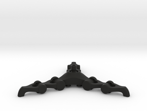 Grabber Cane Articulated in Black Natural Versatile Plastic