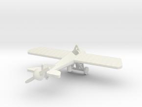 Morane Saulnier N 1/144th scale in White Natural Versatile Plastic