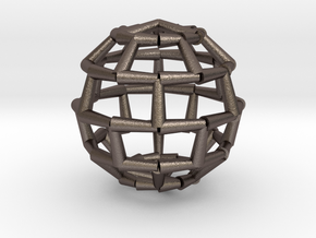 Brick Sphere 2 in Stainless Steel