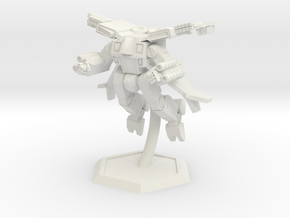 Mecha- Crusher LAM AirMech (1/285th) in White Strong & Flexible