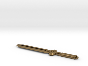 Darker Than Black Sword in Natural Bronze