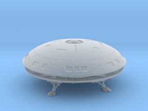 Diplomatic Shuttle Flying Saucer in Smooth Fine Detail Plastic