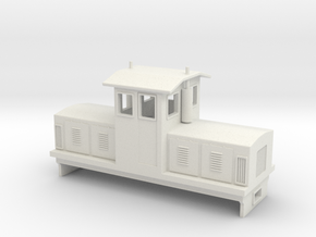 "HOn30 Centrecab Locomotive (""Joanna"") in White Strong & Flexible"