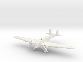 Mitsubishi Ki-2 Louise 6mm 1/285 in White Natural Versatile Plastic