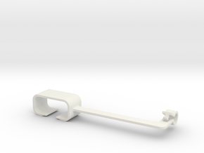 MagSafe Adapter Holder 3 in White Natural Versatile Plastic