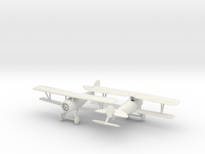 1/144 Nieuport 27 x2 in White Natural Versatile Plastic