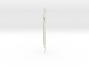 fasces: bundle of sticks in White Natural Versatile Plastic