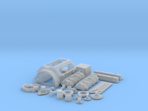 1/16 Scale Buick Nailhead Basic Block Kit in Frosted Ultra Detail