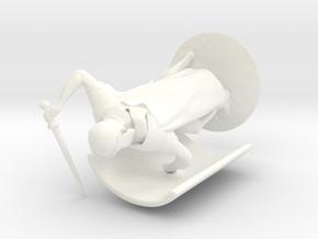 Praetorian in White Processed Versatile Plastic