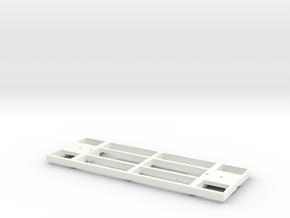 Underframe 7foot in White Processed Versatile Plastic