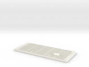Defender Classic Grill in White Processed Versatile Plastic