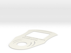 Etiquette BBD in White Natural Versatile Plastic