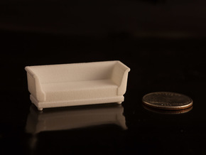 1:48 Sofa in White Strong & Flexible