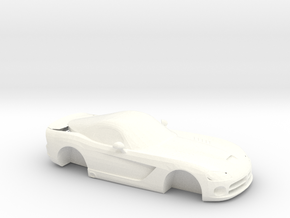 Dodge Viper SRT  in White Processed Versatile Plastic