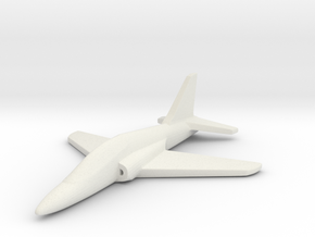 1/285 (6mm) Goshawk Trainer in White Natural Versatile Plastic
