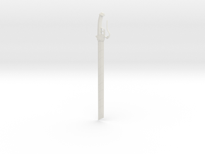 Larger Titian Sword 1 in White Natural Versatile Plastic