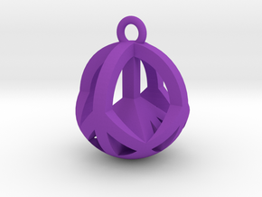 NewPeace in Purple Processed Versatile Plastic