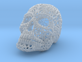 Nautilus Sugar Skull - SMALL in Smooth Fine Detail Plastic