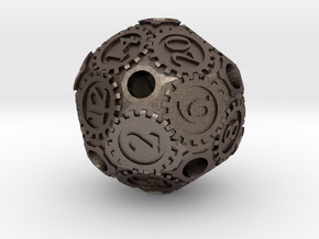 D20Gearpunk in Stainless Steel