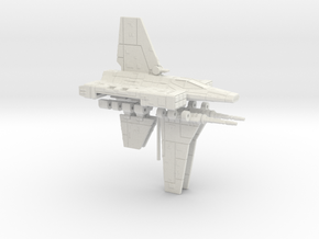 XG-1 Star Wing Assault Gunboat 1/270 in White Strong & Flexible