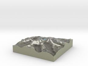 Terrafab generated model Wed Jan 15 2014 17:16:28  in Full Color Sandstone