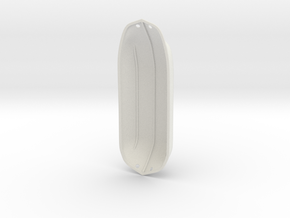 ZachWing LowPod1 in White Natural Versatile Plastic