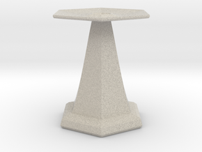 base for sundial in Natural Sandstone