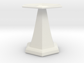 base for sundial in White Natural Versatile Plastic