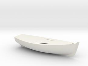 Sloep 7 hollow 22102011 in White Natural Versatile Plastic