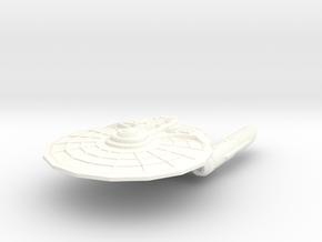 USS Dakota in White Processed Versatile Plastic