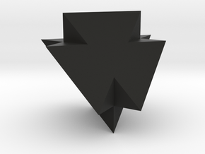 A Peculiar Polyhedron in Black Natural Versatile Plastic