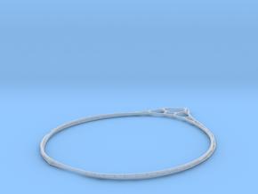 Minimalist Bracelet 3 in Smooth Fine Detail Plastic